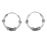 Bali Hoop Earrings FSE003