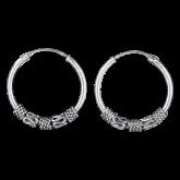 Bali Hoop Earrings FSE005