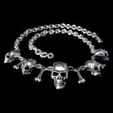 "Collier ""crânes"" HK02"