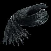 Lederband, schwarz