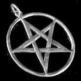Pendentif pentagramme PP10