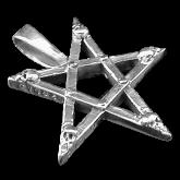 Pendentif pentagramPP18