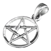 Pendentif pentagramPP25