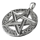 Pendentif pentagramPP26
