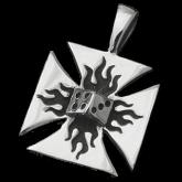 "Symbol Pendant ""Iron Lucky Cross"" SP78"