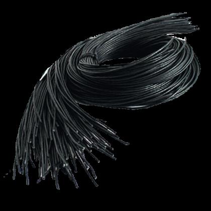 Leather Strap 1m, black