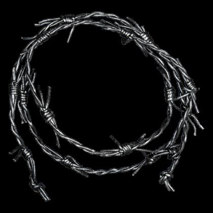 "Lederband ""Barb Wire"""